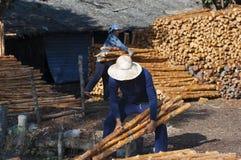 Namorzynowy węgla drzewnego robić Obrazy Royalty Free
