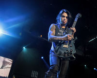 NAMPA, Dave Navarro plays guitar royalty free stock photography