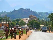 NAMPULA, MOZAMBICO - 6 DICEMBRE 2008: la natura fantastica della m. Fotografia Stock Libera da Diritti