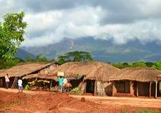 NAMPULA, MOZAMBIQUE - 7 DE DICIEMBRE DE 2008: El acuerdo. Nacional Fotografía de archivo