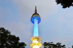 Namsan N Seoul Tower, South Korea Royalty Free Stock Photography