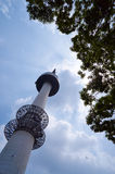 Namsan tower in Seoul. Namsan tower or Seoul tower in Seoul, Korea Royalty Free Stock Images