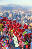Namsan Tower in Seoul Stock Photography
