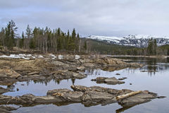 In Namsen valley Stock Photo