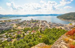 Namsos, Νορβηγία Στοκ Εικόνες