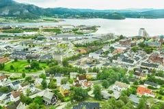 Namsos, Noorwegen Royalty-vrije Stock Afbeelding