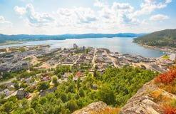 Namsos, Noorwegen stock afbeeldingen