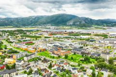 Namsos, Norvège Photo stock