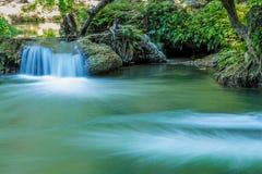 Namtok chet saonoi国家公园 库存照片