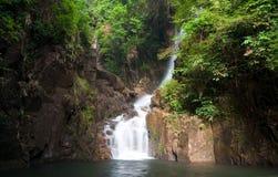 Namtok Phlio, Phlio waterfall Royalty Free Stock Photos
