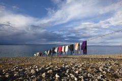 namtso Θιβέτ λιμνών Στοκ Φωτογραφία