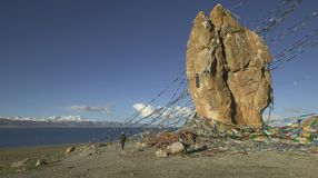 namtso Θιβέτ λιμνών Στοκ εικόνα με δικαίωμα ελεύθερης χρήσης