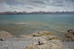 Namtso в Тибете Стоковая Фотография RF