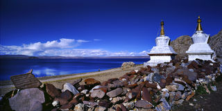 namtso озера Стоковые Фото