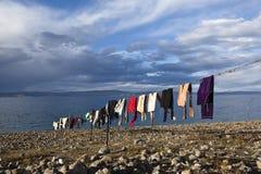 namtso Тибет озера Стоковое Изображение