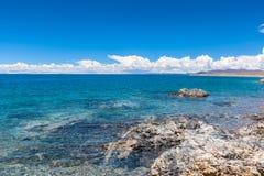 namtso Тибет озера Стоковые Изображения RF