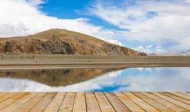 Namtso jezioro przy Tibet, porcelana Obrazy Stock