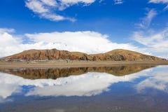 Namtso jezioro przy Tibet, porcelana Zdjęcie Stock
