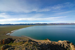 Namtso Lake. Morning view of Namtso Lake, Tibet Royalty Free Stock Photography