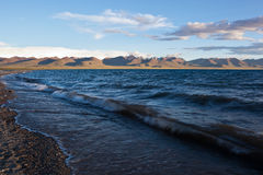 Namtso Lake early in the morning Stock Photography