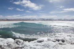 Namtso Lake frozen Stock Photography