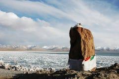 Namtso lake in Tibet Royalty Free Stock Image