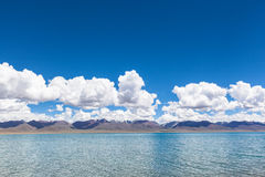 Namtso Lake in Tibet Royalty Free Stock Photo