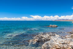 Namtso Lake in Tibet Royalty Free Stock Images