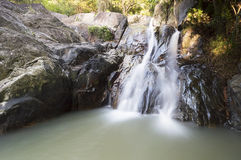 Namuang waterfall Royalty Free Stock Photo