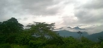 Namunukula山在斯里兰卡 图库摄影
