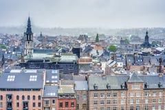 Namur as seen from the Citadel, Belgium Stock Photo