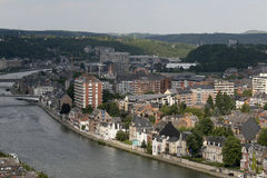 Namur in Belgien stockfotos