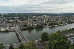 Namur, Belgium. Meuse river in Namur, Belgium stock image
