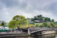 Namur Citadel, Wallonia Region, Belgium royalty free stock image