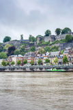 Namur Citadel, Wallonia Region, Belgium stock images