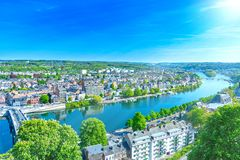 Namur, city in Belgium royalty free stock image