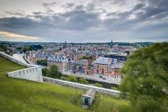 Namur skyline, Wallonia, Belgium. Stock Image