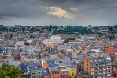 Namur skyline, Wallonia, Belgium. Royalty Free Stock Images