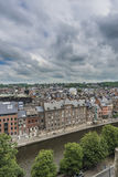 Namur skyline, Wallonia, Belgium. Stock Photos