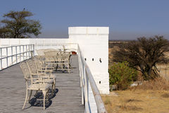 Namutoni Fort, entrance to Etosha National Park Royalty Free Stock Photo