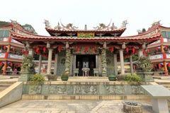 nan'an镇,泉州市,瓷天竺(天空专栏)寺庙  免版税库存照片