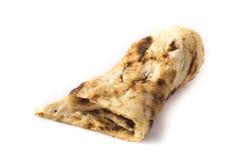 Nan - eine Nahaufnahme des indischen Brotes Stockfotografie