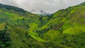 Nan góry krajobraz Zdjęcia Stock