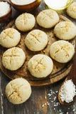 Nan Hathi Indische traditionele koekjes royalty-vrije stock foto's
