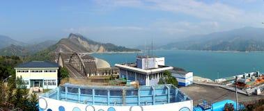 Nan Hua Reservoir i sydliga Taiwan Royaltyfri Foto