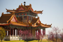 Nan Hua Temple. Fo Guang Shan. Chinese Temple in South Africa. Stock Photo