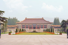 Nan Jing museum. Nanjing Municipal Museum, the first large national comprehensive museum in China, is located in the south of Purple Mountain, Nanjing City and Royalty Free Stock Photos