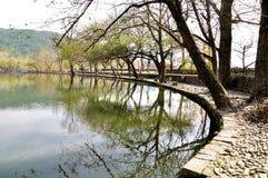 Nan lake in Hong Village Royalty Free Stock Photos