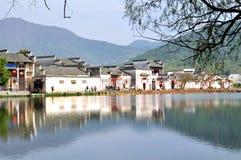 Nan lake in Hong Village Stock Image