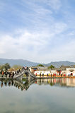 Nan lake in Hong Village. Hong Village located in southern anhui province, china.2014.12.2 Royalty Free Stock Photography
